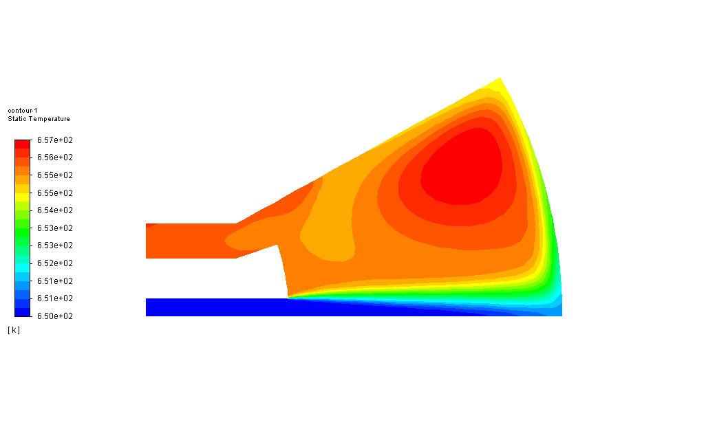 多反应锥形燃烧器燃烧模型